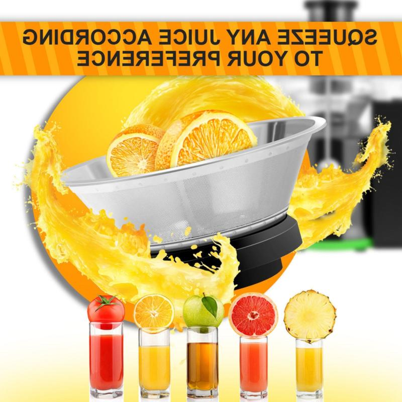 New! Mouth Fruit Centrifugal Electric