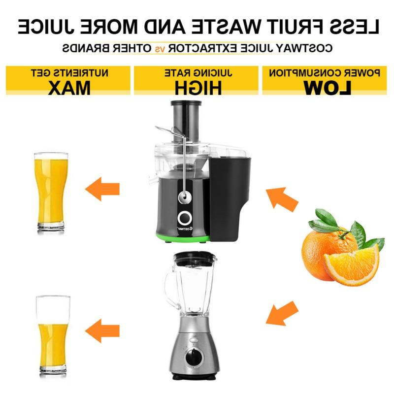 New! Wide Mouth Centrifugal Juicer