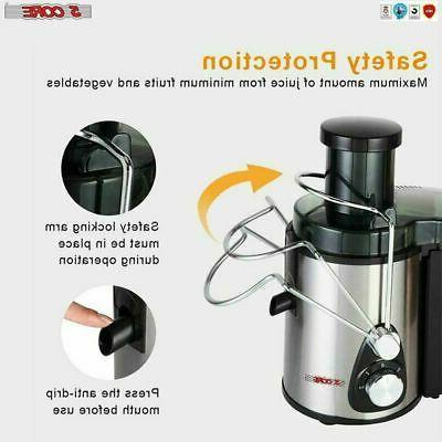 NEW Electric Juicer Wide Fruit Juice Extractor 3 🍊