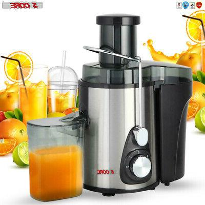 NEW Wide Mouth Fruit Centrifugal Juice Extractor 3 Speed 🍊