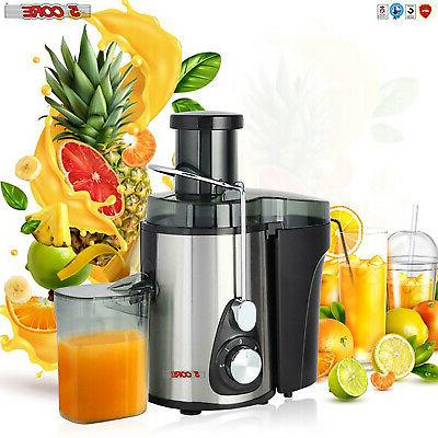 new 2021 electric juicer wide mouth fruit