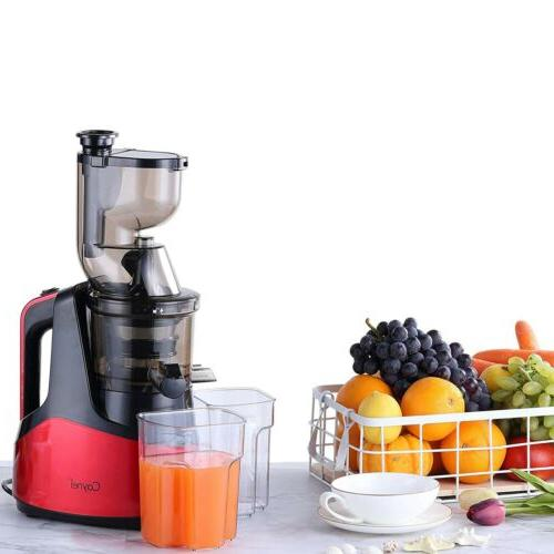 new slow masticating juicer cold press extractor
