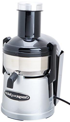 Omega BMJ330 Commercial Stainless-Steel Pulp-Ejection Juicer