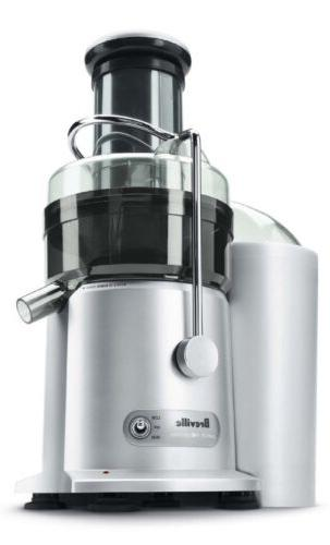 silver fruit and vegetable juicer fountain diet