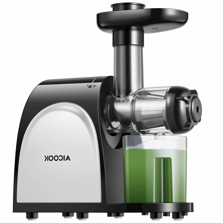 slow masticating cold press juicer juice extractor