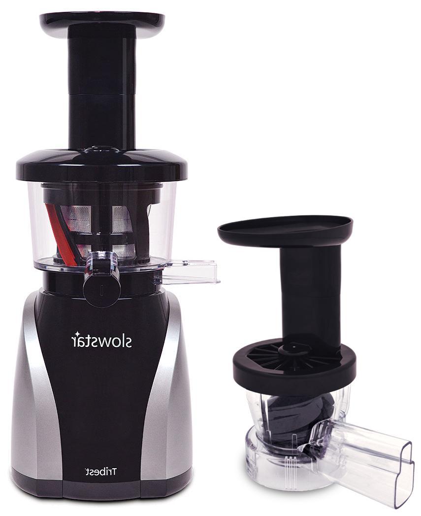 slowstar vertical slow juicer mincer