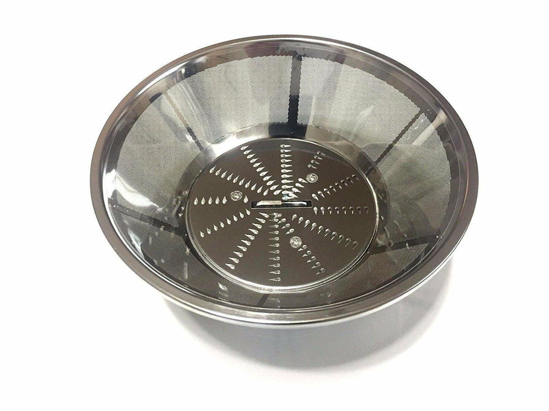 steel blade and basket filter for breville