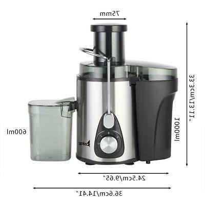 ZOKOP 600W Electric Machines Extractor Centrifugal
