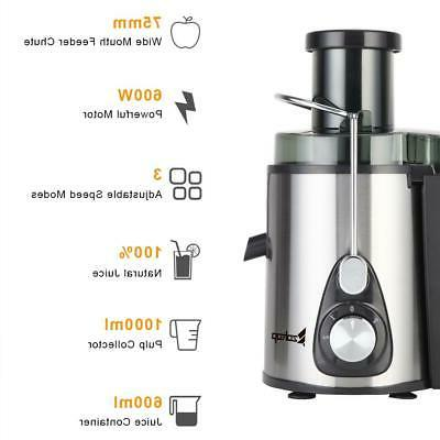 ZOKOP upgrade 600W Electric Machines Extractor Centrifugal