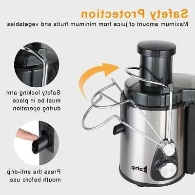 Upgrade Electric Vegetable Extractor Juice Machine
