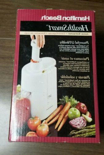 Vintage Smart Juice Extractor Juicer 67150 Tested & Works
