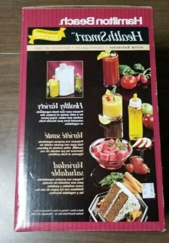 Vintage Beach Health Smart Juice Extractor 67150 Works