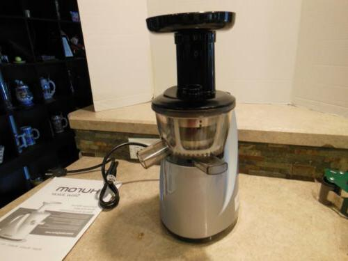 xx12 never used slow juicer in silver