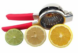 Lemon & Lime Squeezer – Stainless Steel Manual Juicer –