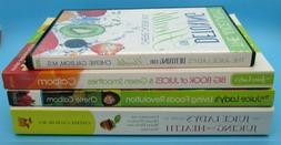 Lot of 3 Juice Lady's Books & 1 DVD