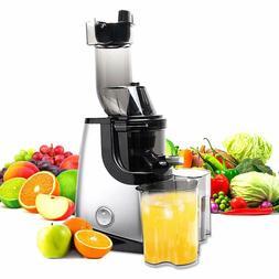 Cold Press Masticating Juicer Machine Slow Fruit Vegetable J