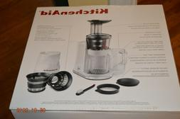 KitchenAid Maximum Extraction Juicer Perfect For Hard Soft L