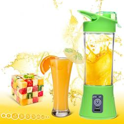 Mini and Portable 400ml USB Rechargeable Electric Juicer Ble