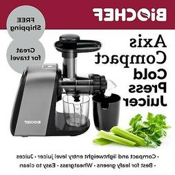 BioChef Axis Compact Cold Press Juicer, Masticating, Slow, C
