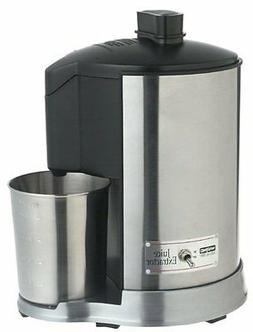 Pro HealthJuice Extractor Waring JEX328 Stainless Juicer Ste