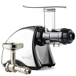 Omega Sana EUJ-707CH Juicer in Chrome with Oil Extractor