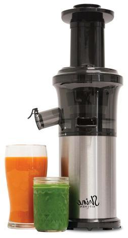 Shine Kitchen Co. 200 W 120V Vertical Single Auger Slow Juic