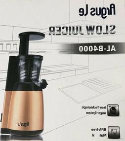 Argus Le Slow Juicer Machine Easy Masticating Juicer Extract