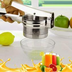 Stainless Steel Lemon Orange Fruit Squeezer Juicer Hand Pres