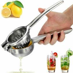 Stainless Steel Manual Lemon Lime Fruit Squeezer Orange Citr