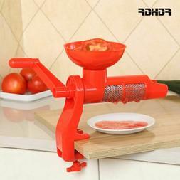 Tomato Squeezer Sauce Juicer Plastic Hand Manual for Tomatos