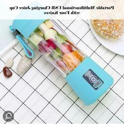 USB Rechargeable Portable Easy Blender Mini Juicer Multi-Fun