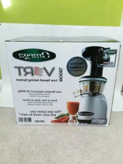 Omega Vert Juicer System VRT350 NIB Vegan Juice Maker