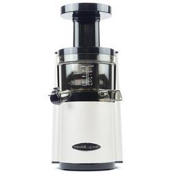 Omega VERT VSJ843RW Slow Juicer in White