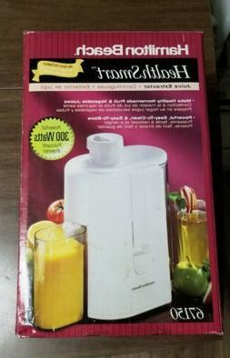 vintage health smart juice extractor juicer 67150