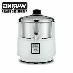 Waring 6001C Commercial Juicer Extractor with Stainless Bowl